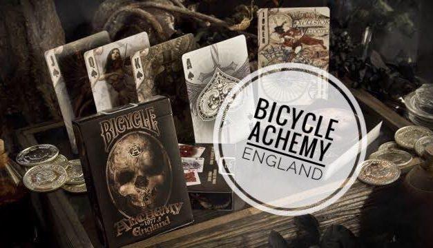 Recenzija špila Bicycle Alchemy England